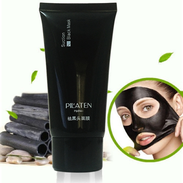pilaten černá slupovací maska