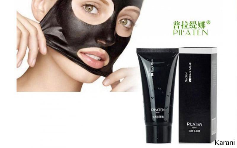 Boj s černými tečkami a akné – pleťová maska PILATEN